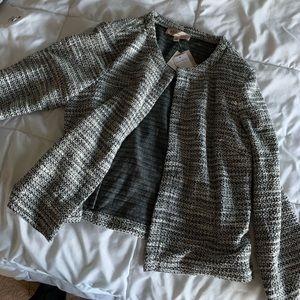 Nordstrom cream/black jacket